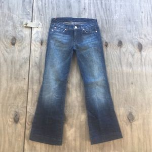👖 jean 7 for all  mankind size 27